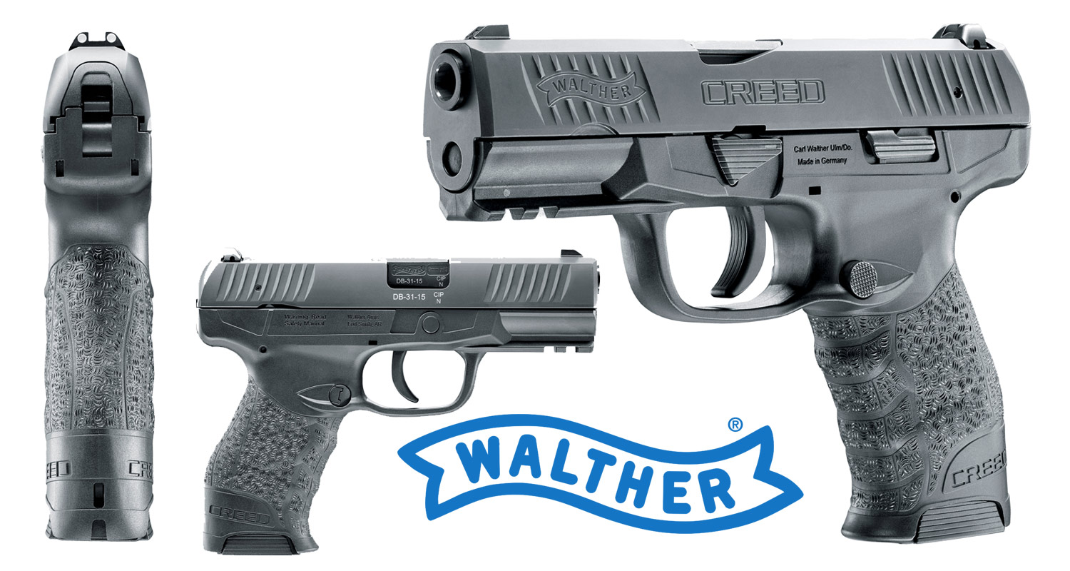 NEU: Walther Creed 9mm Luger