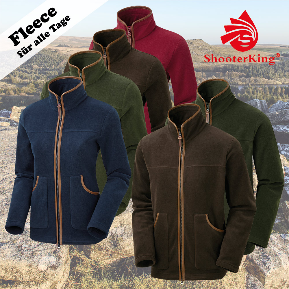 NEU! Shooterking PERFORMANCE Fleece Jacken