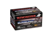 WINCHESTER .22lr Subsonic Solid