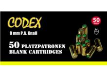 CODEX Platzpatronen 9mm PA Knall