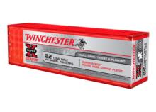 WINCHESTER .22lr Super Speed Round Nose Copper Plated