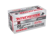 WINCHESTER .22lr Lead Round Nose T22