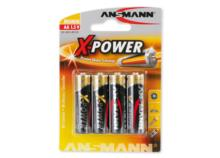 ANSMANN X-POWER Batterie 4x AA